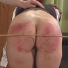 Hard caning punishme